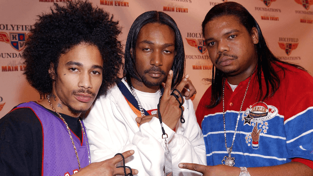 Bone Thugs-N-Harmony continued their show after getting hit in the face with a drone.