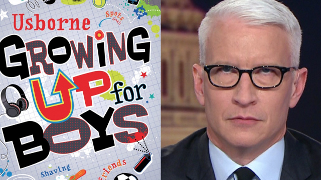 Book for growing boys tries to explain the point of boobs and fails massively.