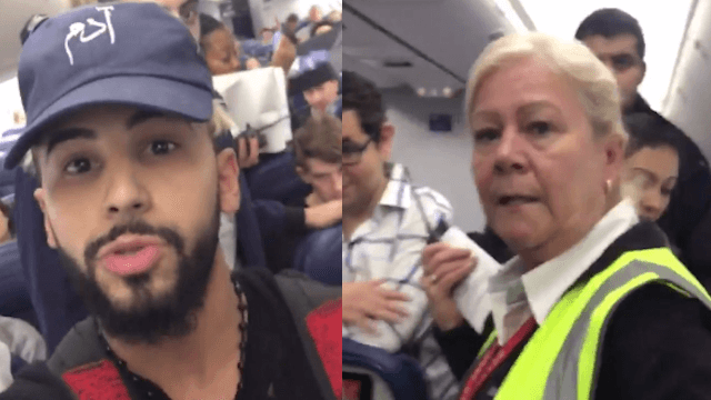 Delta Airlines blasted on social media after removing man from flight for speaking Arabic.