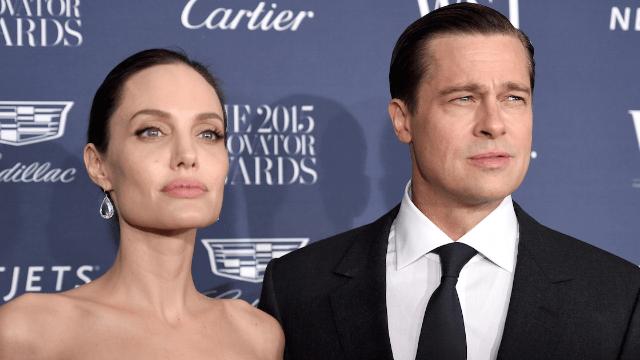 Brad Pitt filed for joint custody but Angelina Jolie was like, 'lol no.'