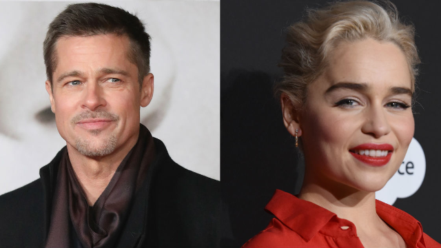 Brad Pitt bid $120,000 to watch 'Game of Thrones' with the Mother of Dragons.