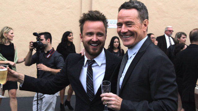 Bryan Cranston and Aaron Paul release tease for the Breaking Bad movie