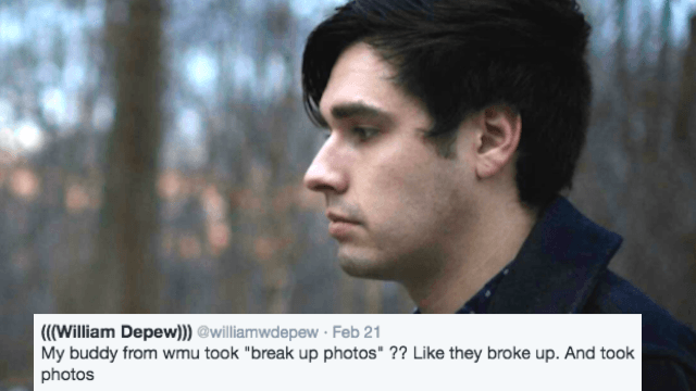 This couple took 'breakup photos' because why should engaged couples have all the fun?