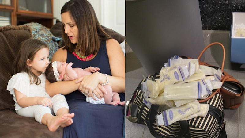 Angry mom tears Delta Airlines apart on Facebook after lazy employees mishandle her breast milk.