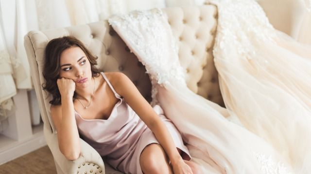 Bride asks if it's wrong to tell bridesmaid to get bigger dress or not be in wedding.