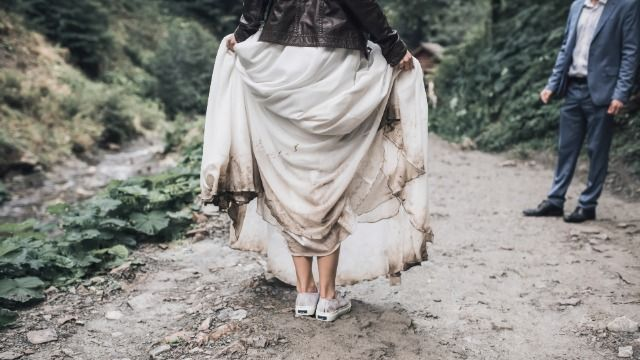 Bride seeks advice after mother-in-law trashes wedding dress she was going to borrow.