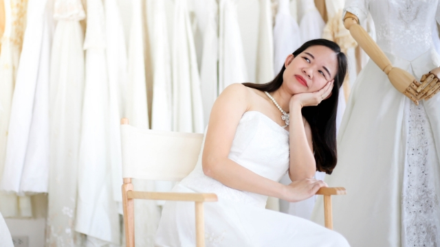 Bride shares story of why her mother-in-law showed up to her wedding in a wedding dress.