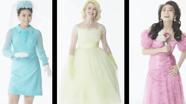This is how bridesmaid dresses have evolved over the last 100 years. So much poof.