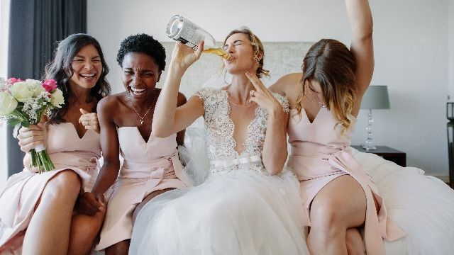 Bride gives bridesmaids 'transparency letter' so they know what to expect.