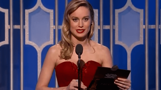Brie Larson managed to stay professional while not hiding her feelings about Casey Affleck.