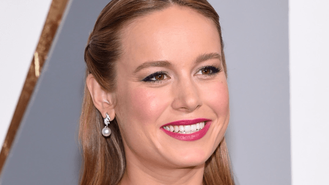 Brie Larson went to the bathroom at the Met Gala and accidentally stumbled into a meme.