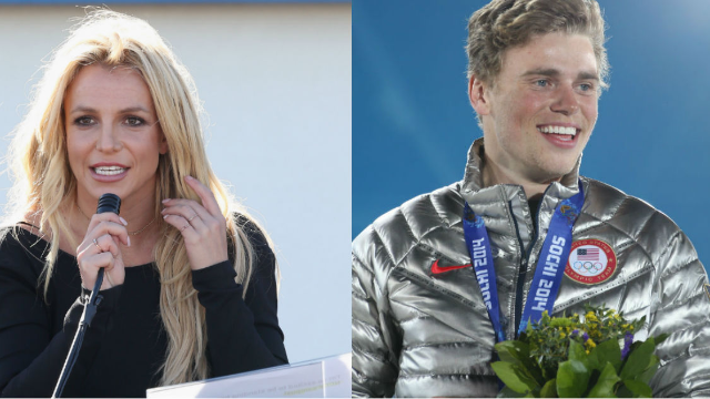Olympics: Britney Spears shouts out Adam Rippon and Gus Kenworthy on Twitter
