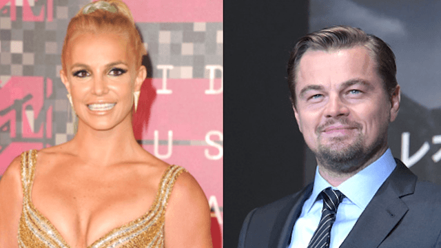 Britney Spears shared a #tbt with Leo DiCaprio from back when they were not that innocent.