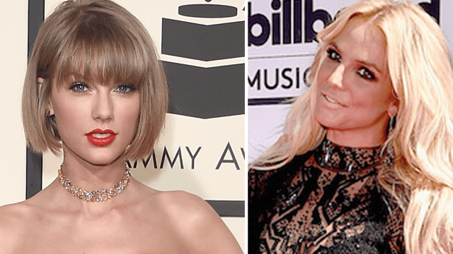 Britney Spears caught in a Taylor Swift related lie but she's probably just confused.