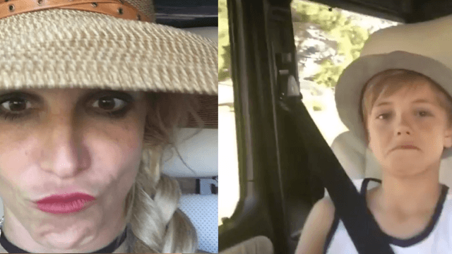 Britney Spears embarrasses the hell out of her sons on Instagram, and you will love her for it.