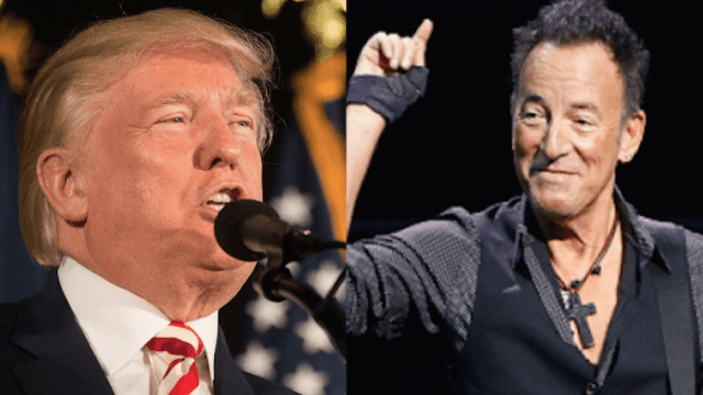 Springsteen trolls Trump with a special song at his concert in Australia.