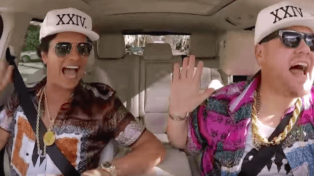 Bruno Mars and James Corden are a ridiculously charming duo on Carpool Karaoke.