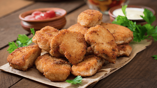 Food blogger snaps pic of secret Burger King chicken chart.
