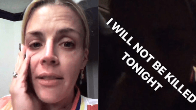 Busy Phillips freaks out, claims she was 'almost murdered' by a stranger in an Uber.