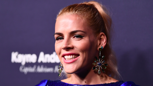 Busy Phillips responded to a troll who said 'your rolls are showing' in her workout photo.
