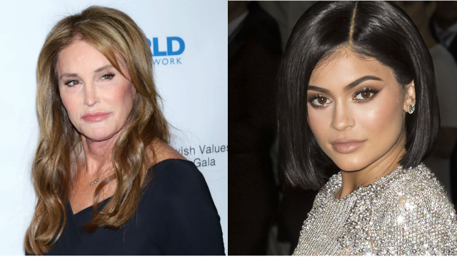 Caitlyn Jenner accidentally posted then deleted photos of daughter Kendall for Kylie's birthday.