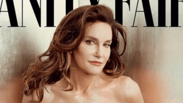 Caitlyn Jenner is posing nude on a magazine cover for a good cause: selling magazines.
