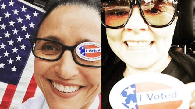 24 celebrities who set a good example for once by voting in the California primary.