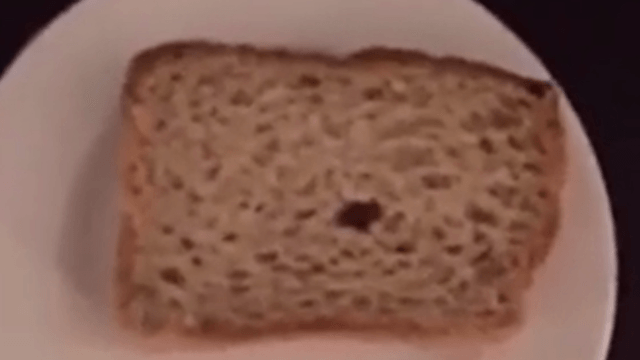 Is Calvin Harris okay? His Snapchat of a peanut butter sandwich has us concerned.