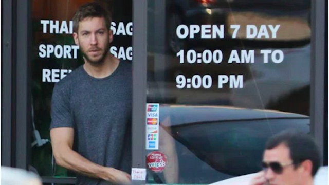 Breaking: Calvin Harris responded to the NSFW Taylor Swift break-up rumors with a sexy threat.