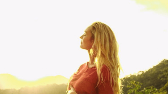 Pregnant Victoria's Secret model Candice Swanepoel shows off her 'lady lumps.'