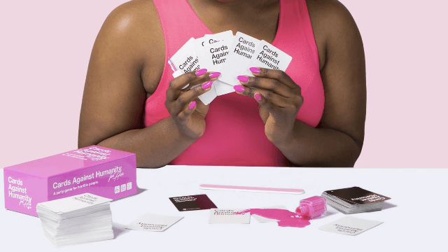 """Cards Against Humanity Just Released A """"For Her"""" Edition To Give The """"Lady Tax"""" The Middle Finger"""