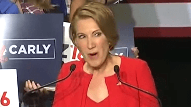 Watching Carly Fiorina sing about Ted Cruz's daughters will make you shudder forever.