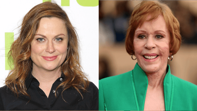 Carol Burnett is going to star in a show produced by Amy Poehler because there is still good in this world.