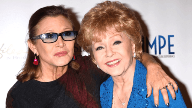 Carrie Fisher and Debbie Reynolds' beautiful shared tombstone will make you cry.