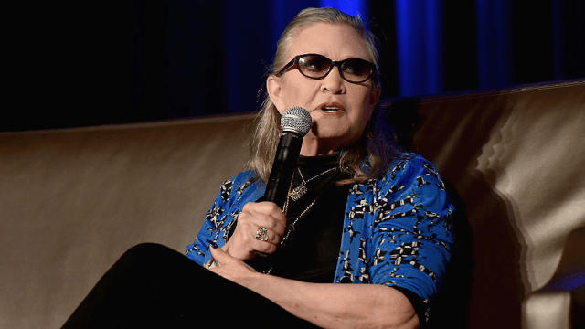 Carrie Fisher explained why Han and Leia broke up in the most hilariously Carrie Fisher way.