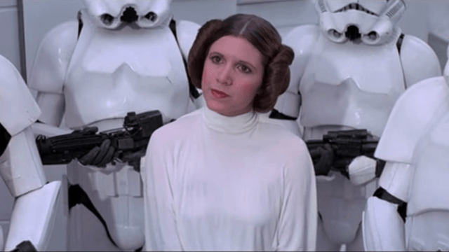 Watch Carrie Fisher deliver her 1978 'SNL' monologue as Princess Leia.