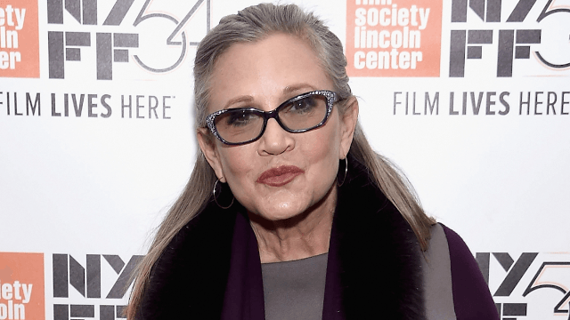 Carrie Fisher's family wants to find the two people who helped her when she had a heart attack.