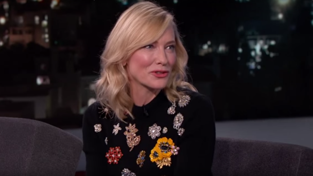 Cate Blanchett named her son after 'Captain Underpants' because the muses told her to.