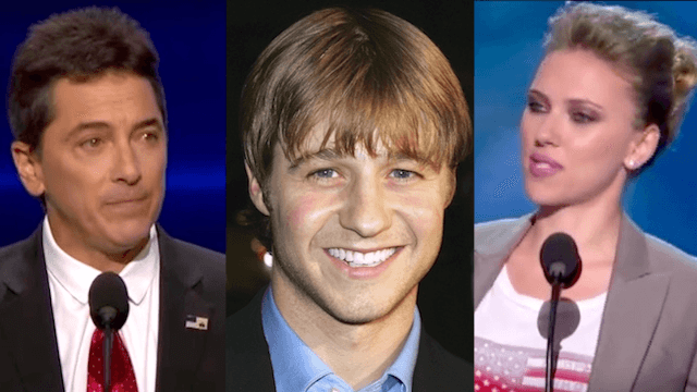 8 celebrities who've spoken at political conventions for some reason.