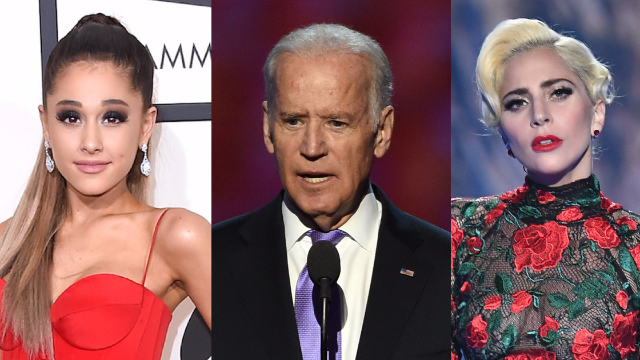 Celebrities and politicians are demanding better gun control laws in wake of Las Vegas shooting.