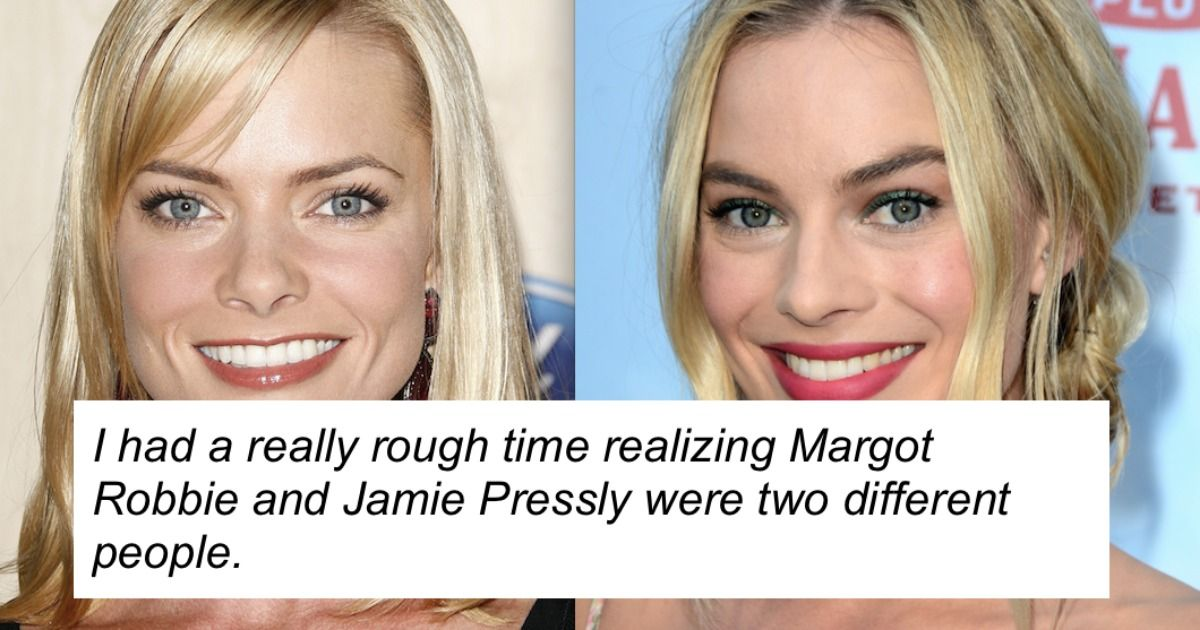16 people name the celebrity pairs they thought were the same person.