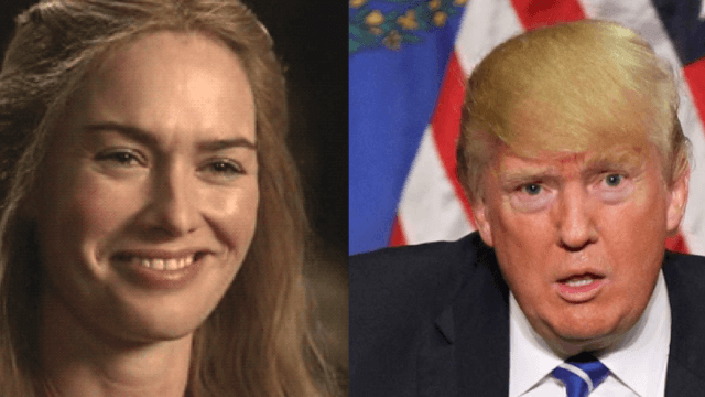 Cersei Lannister blasts Trump in a brutal tweet.