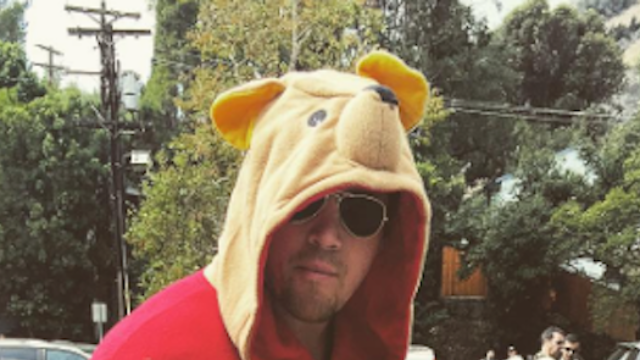 Channing Tatum is a total PBILF in this Halloween costume he wore to his daughter's school.