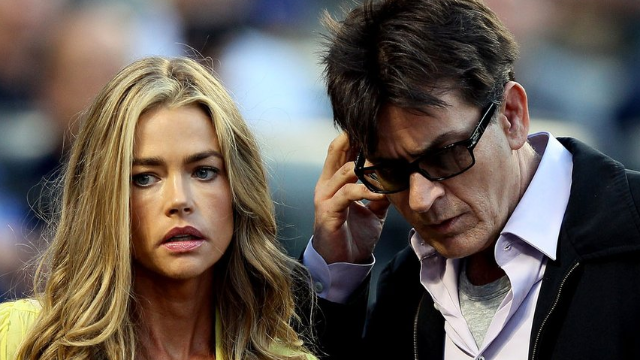 Denise Richards: Charlie Sheen called our 10-year-old daughter 'pig whore' and threatened murder.