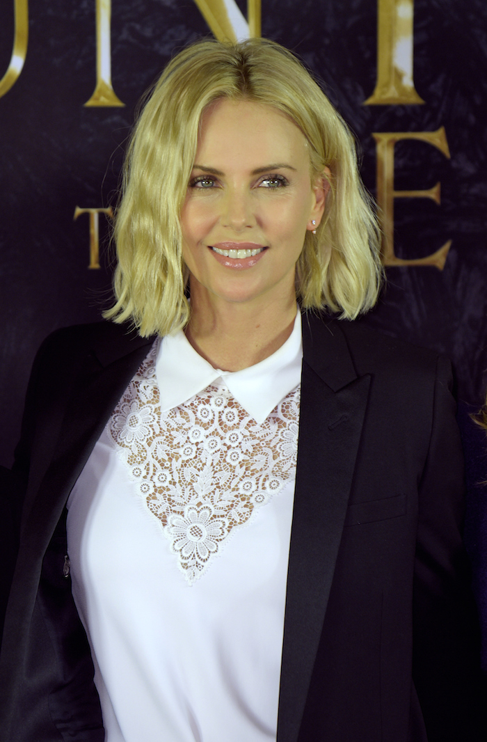 Ugh. So gorgeous. So rough. How do you manage, Charlize?