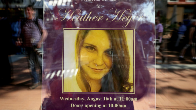 Charlottesville Nazi who killed Heather Heyer is charged with first degree murder.