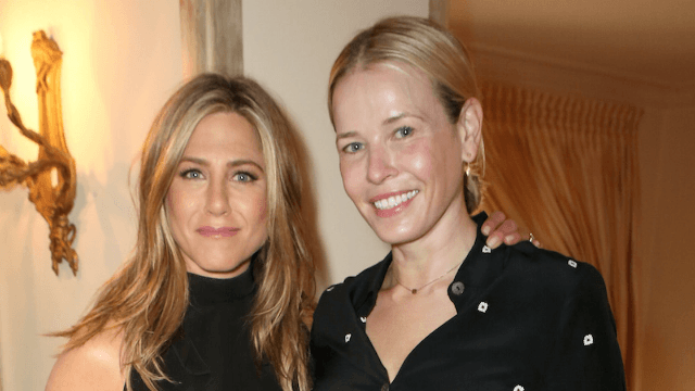 Chelsea Handler says Jen Aniston couldn't have cared less about Brangelina split.