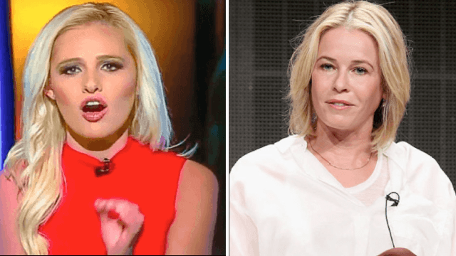 No one asked for this, but Chelsea Handler and Tomi Lahren are going head-to-head in a live debate.