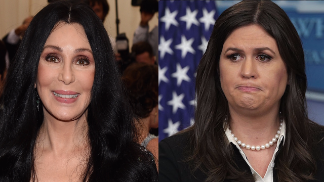 Cher got in an epic Twitter fight after she made fun of Sarah Sanders's fashion sense.