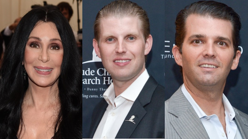 Cher accused Trump's sons of killing her friend. It took hours for anyone to figure out what she meant.